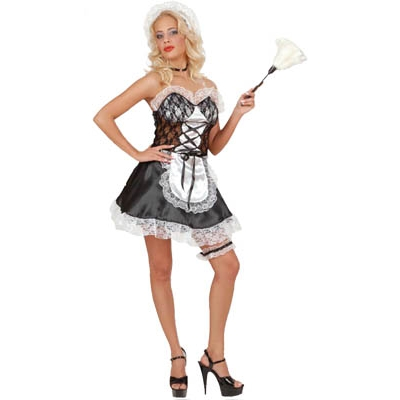Sexi French Maid - white