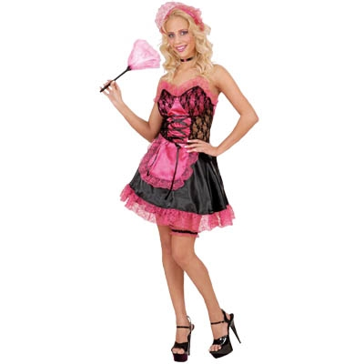 Sexy French Maid - pink