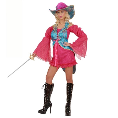 Profi costume Madame Musketeer
