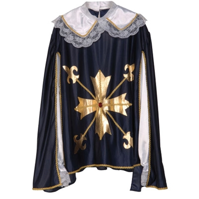 Musketeer coat with cape