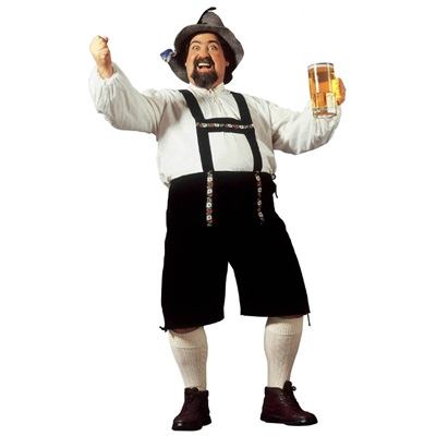 XL Bavarian Man Costume