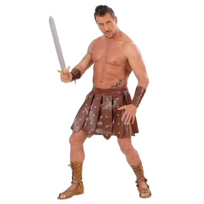 Gladiator Skirt and Armbands