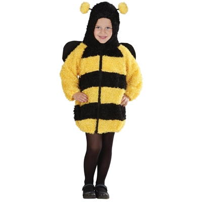 Fuzzy Bee Dress