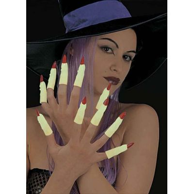Shining sorceress fingers