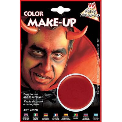 Make up red