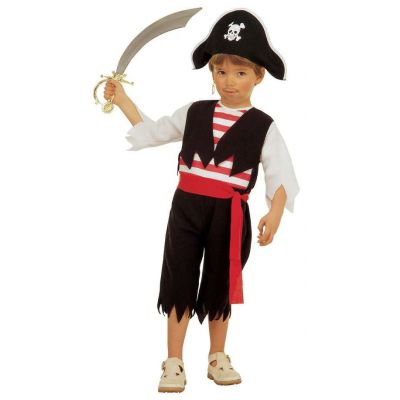 Costume pirate with hat
