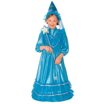 Costume fairy with hood - blue