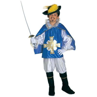 Costume musketeer - blue