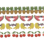 Fruit Garland 3 meters long