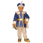 Little Royal Prince coat with cape, pants with shoe covers, belt, hat