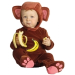 Monkey Costume jumpsuite, headpiece
