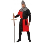 Medieval Warrior costume size M coat, belt, hat. Size M