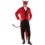 Mr. Luis Cifer costume XL Tailcoat, headpeace. Velvet material