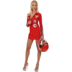 Grand Prix Babe Costume 2 colors, size M