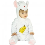 Little mouse costume Jumpsuit, headpiece