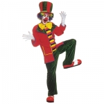 clown fancy dress costume Coat, trousers, hat, bow tie