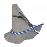 Grey Felt Bavarian Hat