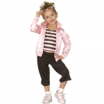 Jazz Pink Lady Costume Jacket, shirt and pants