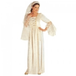 Milady Costume Velvet dress with veils and a luxury headpiece with veils