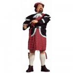 Scott Dress XL Jacket with jabot, kilt, belt, sock-ribbons, hat
