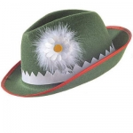 Tyrolean hat with feather