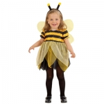 Little bee dress with wings and antennas
