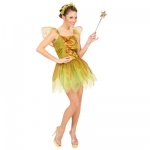 Golden forest pixie Dress, wings, headpiece