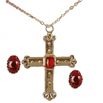 Cardinal Set Big cross and two rings