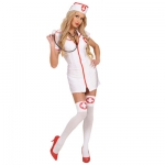 Sexy nurse Dress, hat