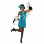 Charleston - size S Dress, headband with feather. Size S