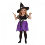 Children witch dress Dress, hat