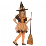 Pretty witch costume Dress, hat