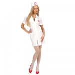 Quality fabric Nurse XL Dress, hat