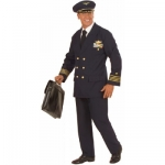 Pilot Costume jacket, pants, hat. deluxe