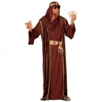 Arab Sheik XL Robe, over-robe, belt, turban