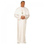 Pope Costume XL Robe, tippet, cap