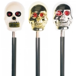 Skull Walking Cane With Maracus Effect. 3 models