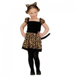 Leopard costume Dress, ears