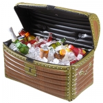 Inflatable treasure chest 60x30x30 cm