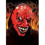 Devil shining mask Leds in mouth and eyes