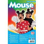 Mouse set ars, nose and glove
