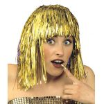 Gold wig