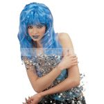 Star dust Wig with small shining silver stars