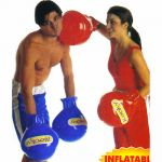 Inflantable boxing gloves