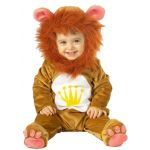 Lion Jumpsuit, headpiece