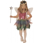 Rainbow fairy Dress, wings